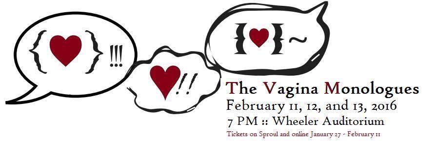Vagina Monologues 2016 Banner