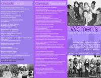 Women's Brochure Front Spring 2016