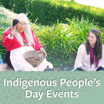 Indigenous People's Day- link to more information about Indigenous People's Day