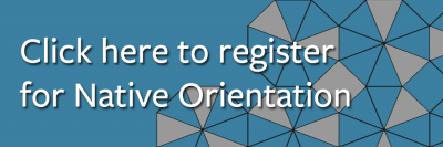 link to register for native orientation
